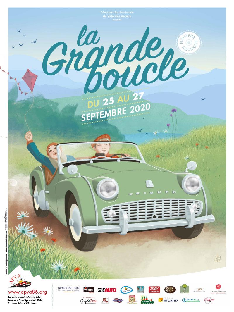 Affiche Boucle Poitou Charentes