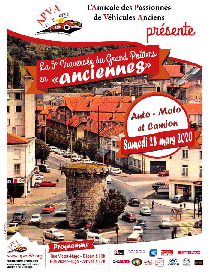 Affiche Traversée de Grand Poitiers