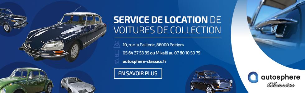 Autosphère Classics - Location de voitures de collection