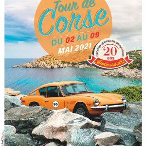 Affiche Tour de Corse 2021